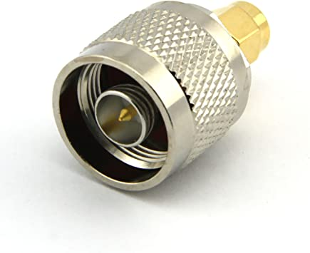 N-Type N Male Plug to SMA Male RF Coaxial Adapter Connector ATAU