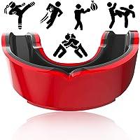 FANDE Protector Bucal Dental, Protector Bucal Deportivo, para Boxeo, MMA, Rugby, Fútbol, Jóvenes y Adultos (Negro y…