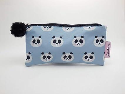 Miquel Rius Jordi Labanda - Estuche plano, diseño panda: Amazon.es: Oficina y papelería