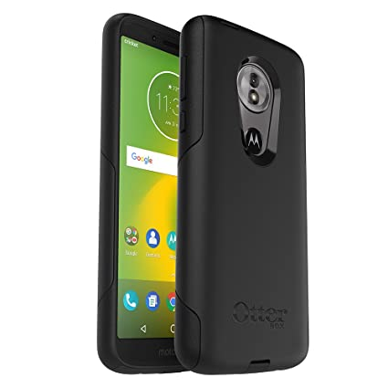 OtterBox Commuter Series Case for Moto g6 Play - Retail Packaging - Black