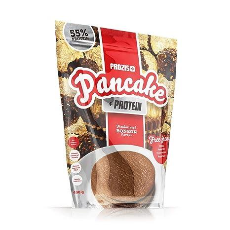 Pancake + Protein: Tortitas de avena con proteína 400 g Pepitas de chocolate: Amazon.es: Salud y cuidado personal