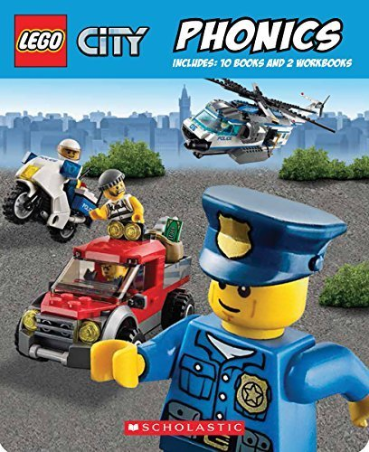 Phonics Boxed Set (LEGO City) by Lee, Quinlan B. (August 25, 2015) Hardcover