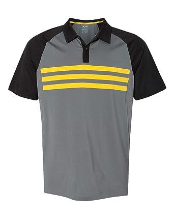 c14c53e3493cbf adidas Mens Climacool 3-Stripes Sport Shirt (A224) at Amazon Men s ...