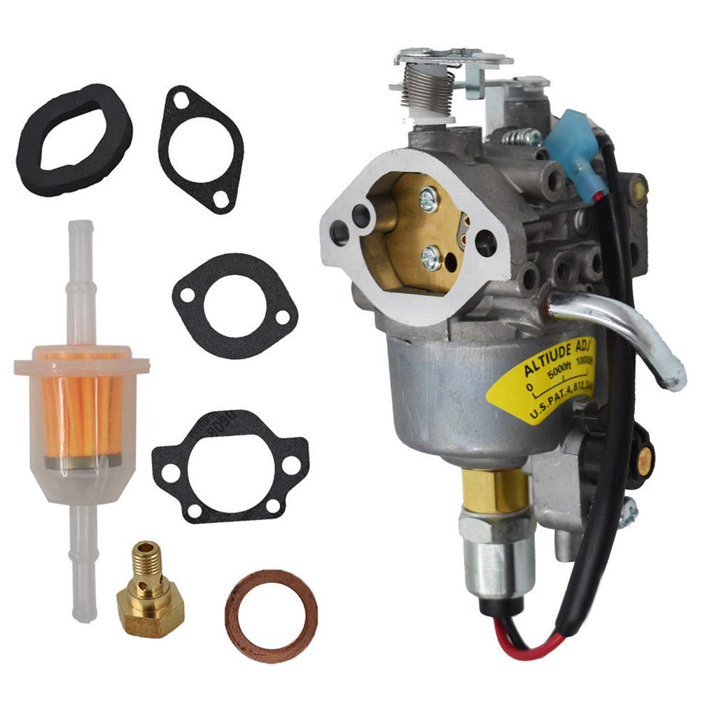 Four Carburetor Replacement for Onan Cummins A042P619 146-0785 and Gasket Set Generator Accessories