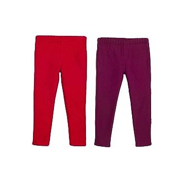 Girls Pants Size 4t Red Fleece Bottoms