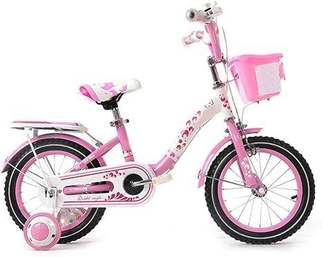YIHANGG Bicicleta Para Niños 2-10 Años 12/14/16/18 Pulgadas Niña ...