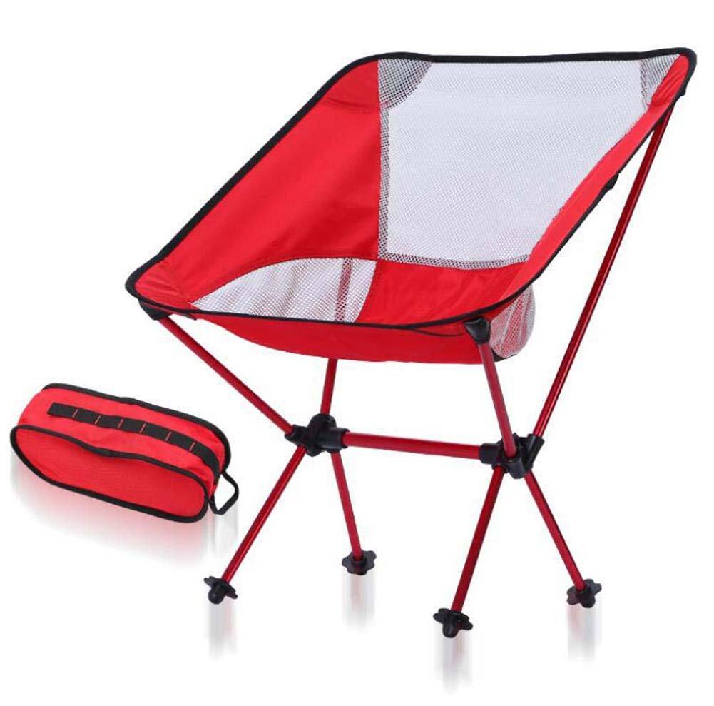 Onfly Faltender kampierender Stuhl, kompakte faltende wandernde Stühle, beweglicher zusammenklappbarer Stuhl-Schemel für Das Wandern der gehenden Fischen-Reise-Jagd-Sport-Partei-Strand Draußen