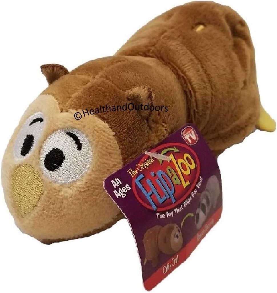 Henny Hippo Jay@Play FlipaZoo 5 Inch Plush FlipZees ZazuZebra