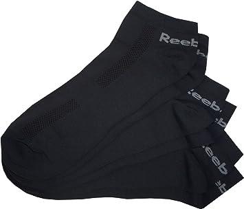 Reebok Trainer Liner Calcetines. füßlinge 3 pares. Cómodo, suave material elástico. MERYL