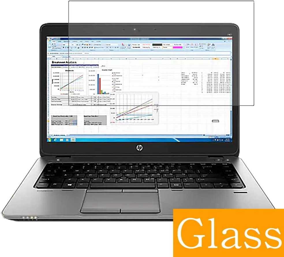 """Synvy Tempered Glass Screen Protector for HP EliteBook 725 G2 12.5"""" Visible Area Protective Screen Film Protectors 9H Anti-Scratch Bubble Free"""