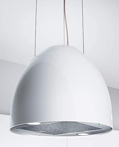 568987 New Moon - Campana extractora (45 cm de diámetro), color blanco perla: Amazon.es: Grandes electrodomésticos