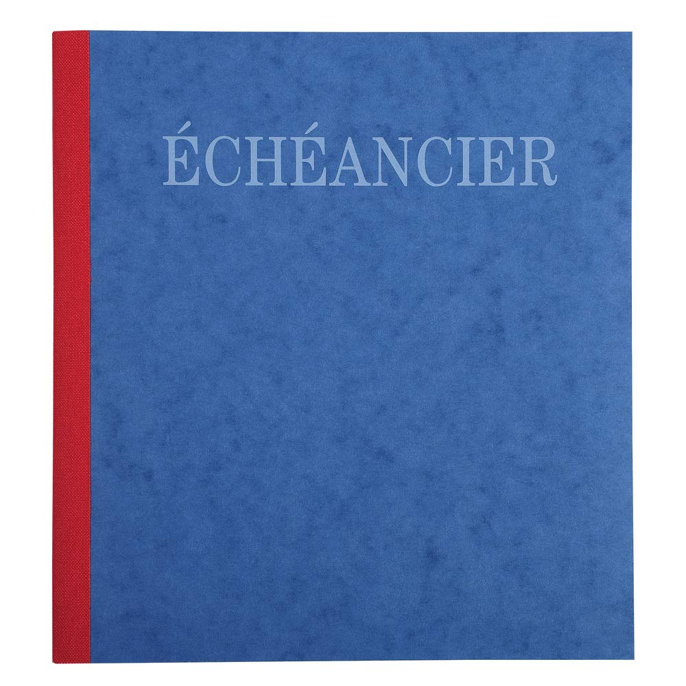 Piqure 21x19cm Echeancier 80pages Exacompta 21256