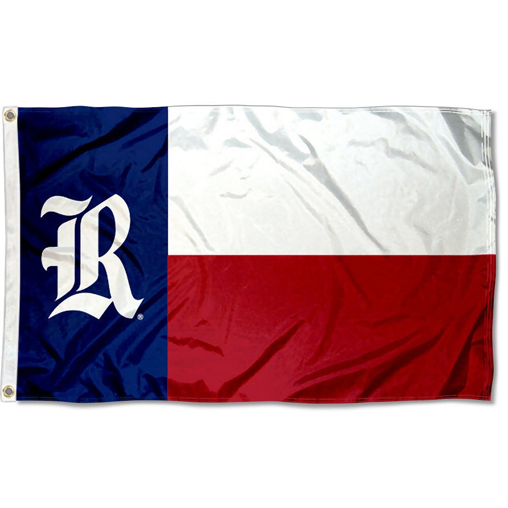 College Flags and Banners Co. Rice Owls Texas State Flag