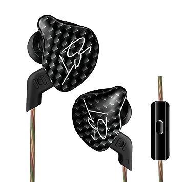 Auriculares de botón KZ ZST HiFi, con cable de 3,5 mm y micrófono: Amazon.es: Electrónica