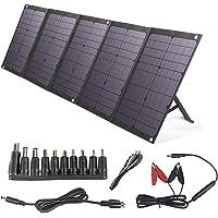 BigBlue gBlue 100W Cargador Solar Plegable Solar Panel con PD 60W Tipo-C, Dual USB Puertos y 12-18V DC Salida para Generador Portátil, Teléfono Celular o Batería, Carga Rápida