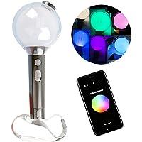 Weiming BTS Army Bomb BTS Lightstick Oficial Ver Special Blackpink lightstick, Stepless Color Change Concert Light Stick…