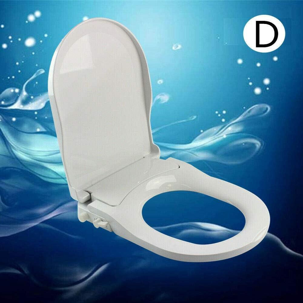 con pulverizador de agua fresca y doble boquilla no el/éctrico Asiento de inodoro para bid/é para el cuidado /íntimo