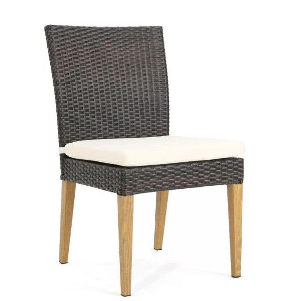 Amazon.com: Sillón de exterior sin brazos Lounge silla de ...