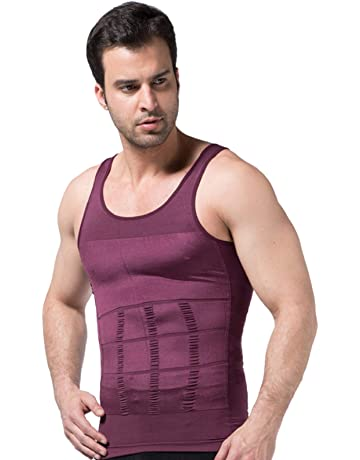 c034bc5e29e3d Semir Mens Compression Shirts Body Shaper Slimming Vest Elastic Slim Muscle  Tank Shapewear