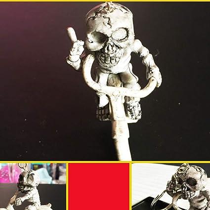 Amosfun Un Llavero Esqueleto Llavero Goma Creativa Esqueleto ...