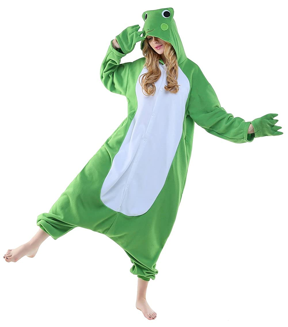 CANASOUR Polar Fleece Christmas Adult Anime Unisex Animal Costume Cosplay Onesie