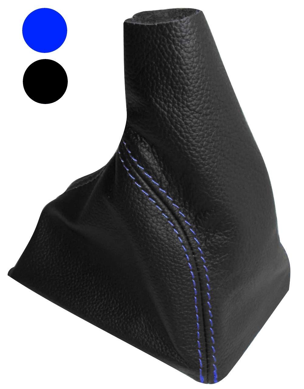 Pomo y funda piel genuina para palanca de cambios Color AERZETIX negro