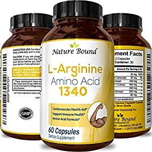 100% Pure L arginine and L Citruline a Premium Amino Acids Strength for Pre work Out and Energy Enhancement for Men to Support Nitric Oxide 1000 mg Per Capsules a Natural Supplement Booster