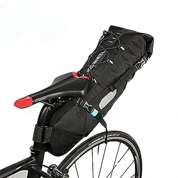 Roswheel 8L/10L Bolsa de sillín alforja para bicicleta Bicicletas Bolsa Bolsa para sillin de