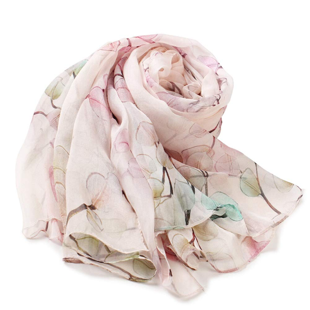 11 Long Scarves Wrap Shawl Long Stole Thick Style Scarf Headscarf Neck Wrap Stole MufflerSilk Spring, Summer and Autumn Shawl Shawl Dual Purpose HENGXIAO (color    2, Size   175  110cm)