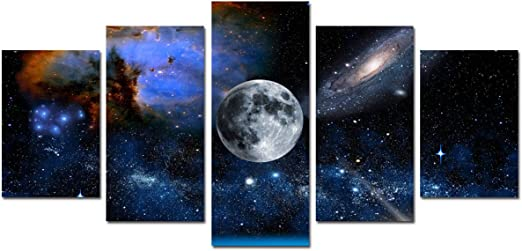 : 20x30cm Poster A History of Space Travel Poster Wall Art Canvas Painting Pictures for Living Room Home Decor - Inch Size