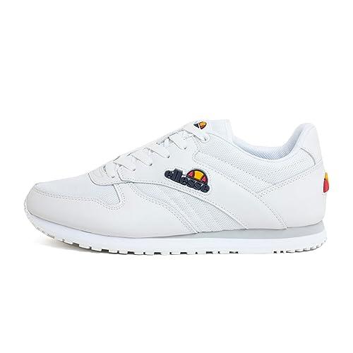 Ellesse Zapatillas de Skateboarding para Hombre White White White/White 38: Amazon.es: Ropa y accesorios
