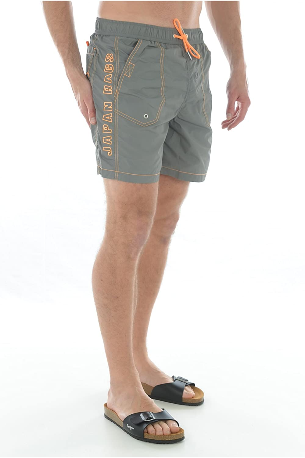 Japan Rags Men's Watershorts Jap 02?Grey