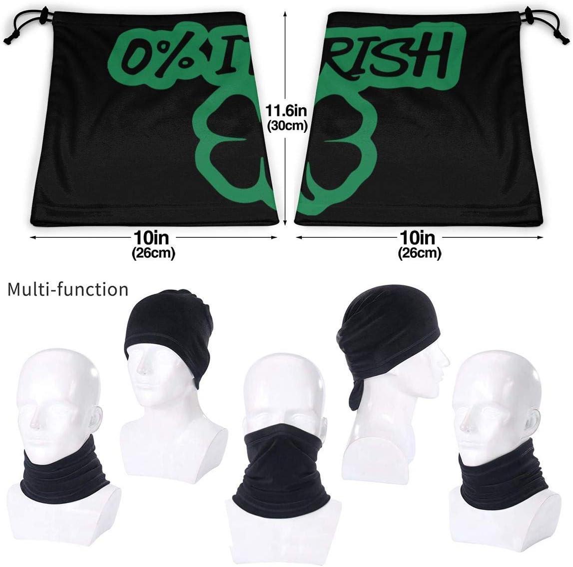 for Mens Womens Zcfhike 0 Percent Irish Microfiber Polyester Seamless Windproof Bandana /& Face Mask /& Neck Warmer Gaiter Shield