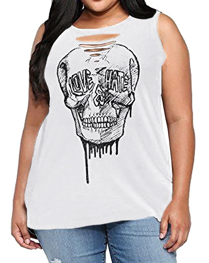 09b53bac6a4 Cut Out Skeleton Sleeveless Tank Top for Summer Customer Service Team  endeavors 100% Customer Satisfaction Service and Experience.