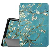 Fintie Samsung Galaxy Tab A 8.0 (2015) Case, Ultra Lightweight Protective Slim Shell Stand Cover with Auto Sleep/Wake Feature for Tab A 8.0 SM-T350 2015 Release (NOT fit 2017 Tab A 8.0), Blossom