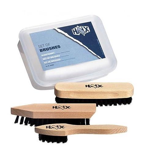 Haix Juego de cepillos para limpieza para zapatos Calzado de Seguridad, color Marrón, talla one size: Amazon.es: Zapatos y complementos