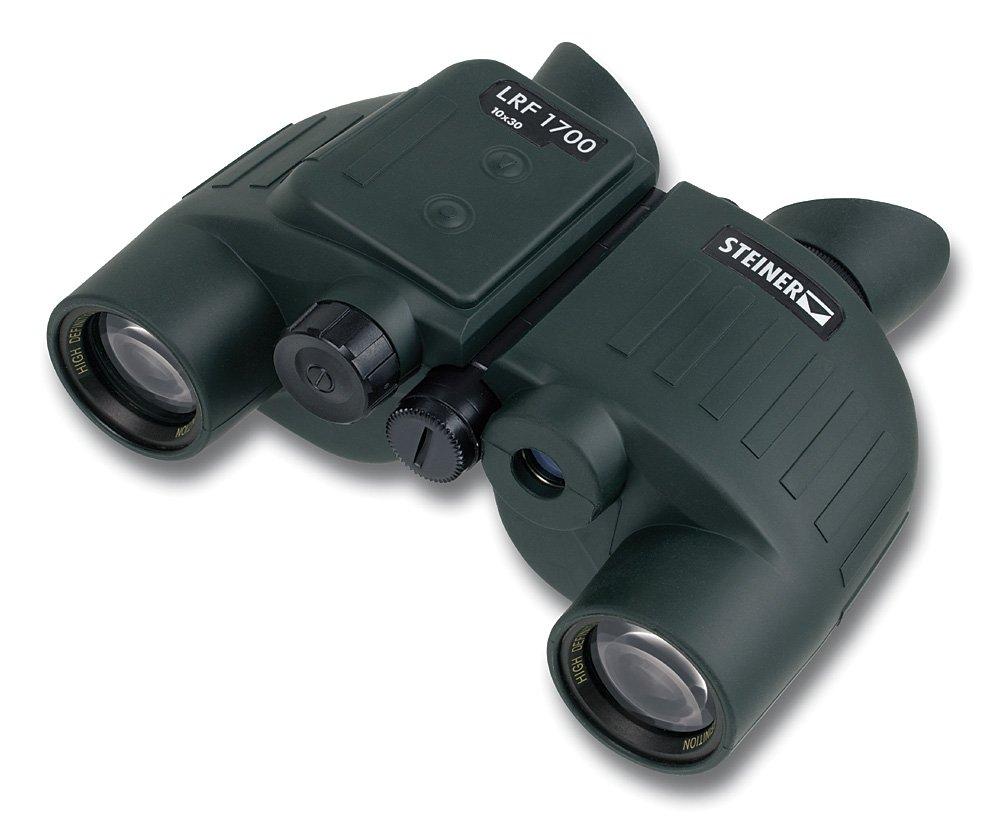 Steiner Laser Range Finder 170010x 30–Prismáticos, Color Negro 3992