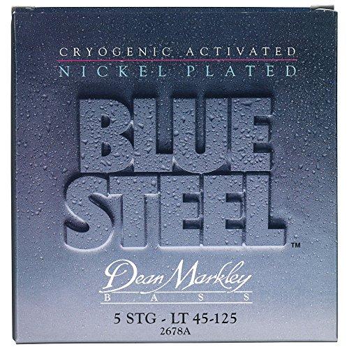 Dean Markley Blue Steel NPS 5-String Electric Bass Strings, 45-125, 2678A, Light
