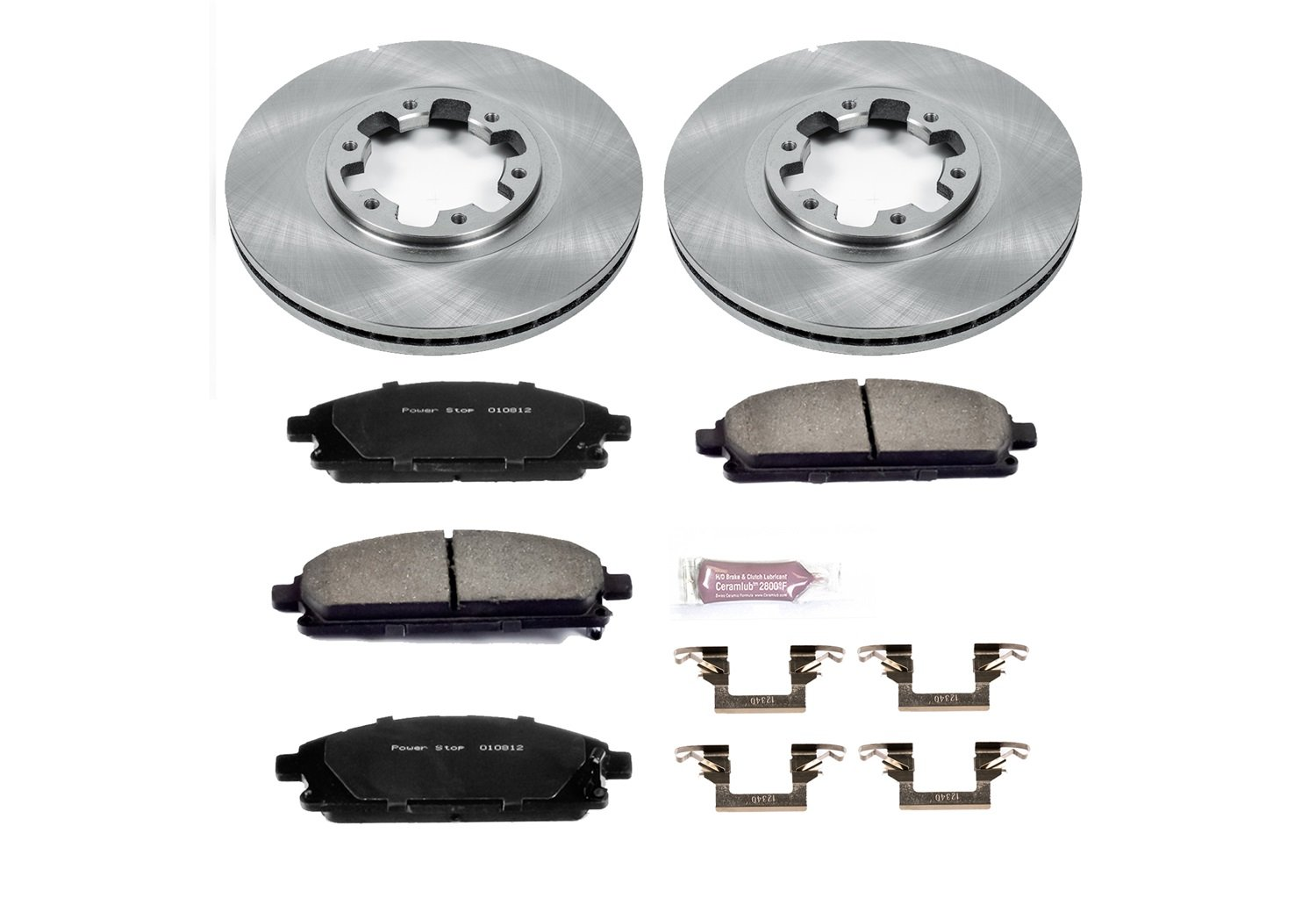 Autospecialty KOE2279 1-Click OE Replacement Brake Kit Power Stop