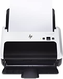 "Hewlett Packard L2737A#201 Scanner - Govt HP Scanjet Pro 3000 s2 Sheet-Fed Scanner (20 ppm) (40 ipm) (48-bit) (8.5"" x 34"") (600 x 600 dpi) (Duplex) (USB) (Energy Star) (50 Sheet ADF)"