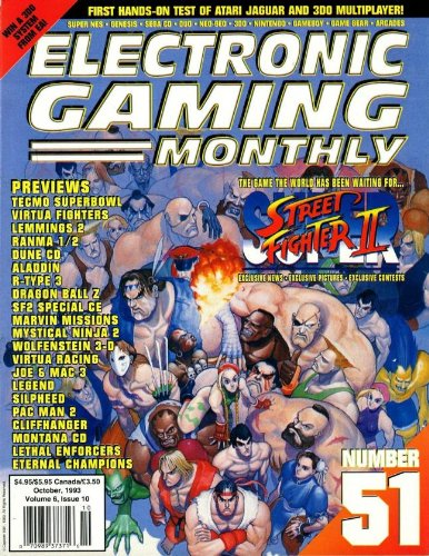 Electronic Gaming Monthly #51 (October 1993): Amazon.com: Books