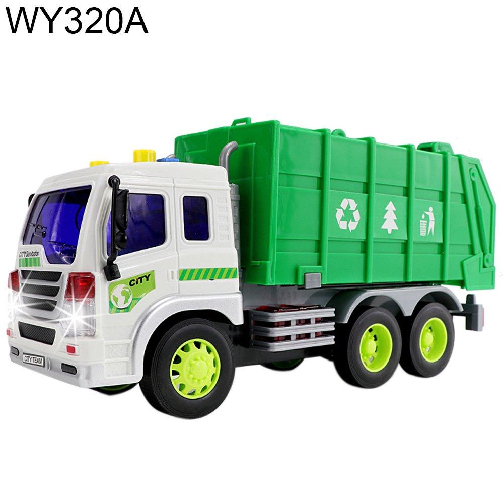 【一部予約販売】 Bluelans Friction W05W0912974MXSE PoweredダンプトラックダンプトラックConstruction 10cm Vehicle Wy320a Toy for Kids 27.5cm x 10cm x 12cm/10.83
