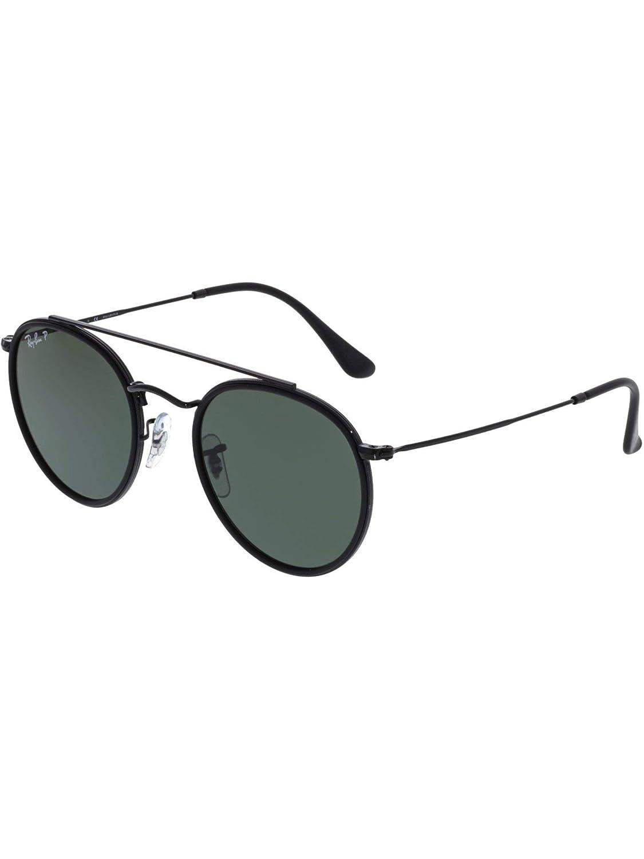 39654947d4 Ray-Ban RB3647N 002 58 Black RB3647N Round Sunglasses Polarised Cycling