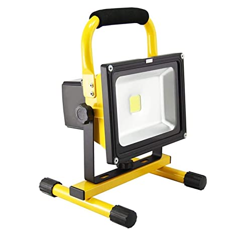 AUFUN Foco LED Exterior 20W Blanco Cálido Foco Proyector LED ...