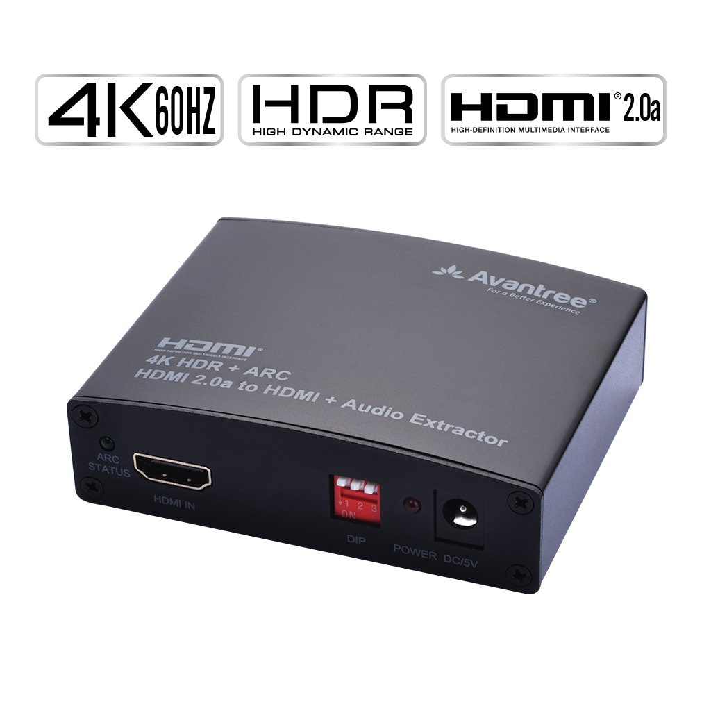 Avantree 4K 60HZ HDMI 20a Audio Extractor