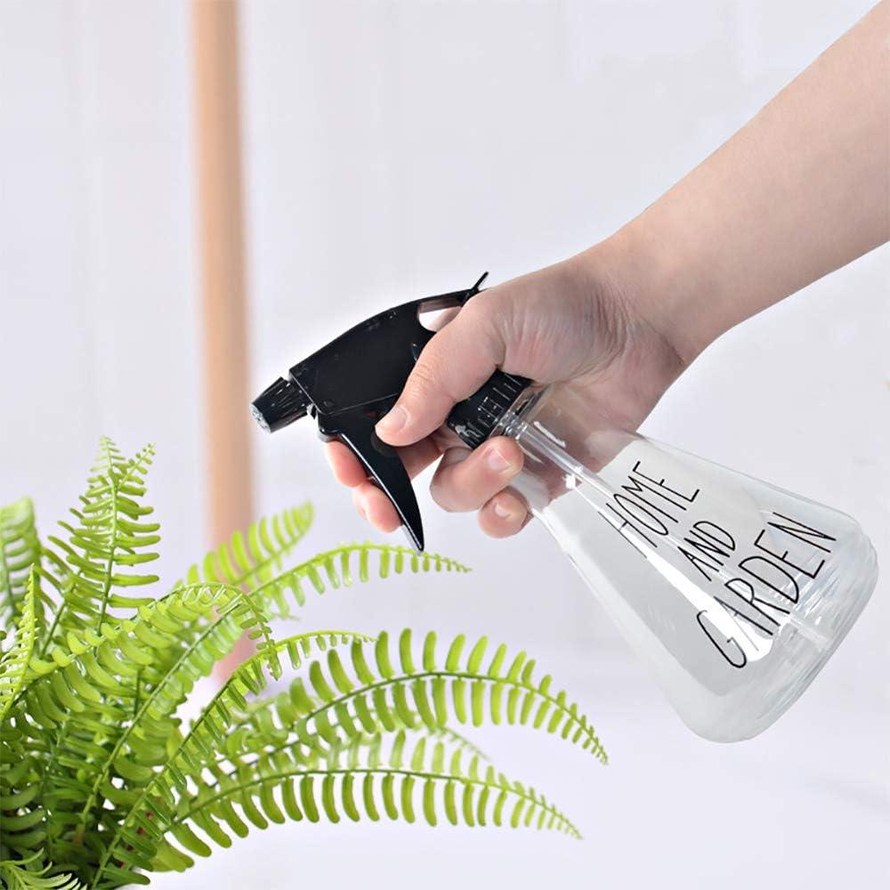 Limpieza Botellas de Spray Peluquer/ía Femongy Botella Spray Pulverizador 500ml Botellas de Spray Transparente para Jard/ín 3 Piezas Botella Pulverizador Plastico para Agua Plantas Transparente