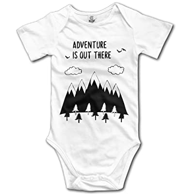 Adventure Is Out There Kids Boys Girls Baby Onesie Clothes Organic