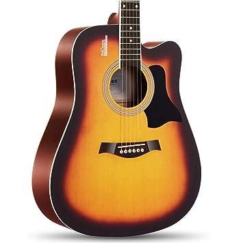 Miiliedy Minimalista Single Board Guitarra acústica Principiante ...