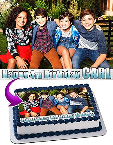 Andi Mack Edible Cake Topper Personalized Icing Sugar Paper A4 Sheet Birthday party Cake Decoration Edible Image
