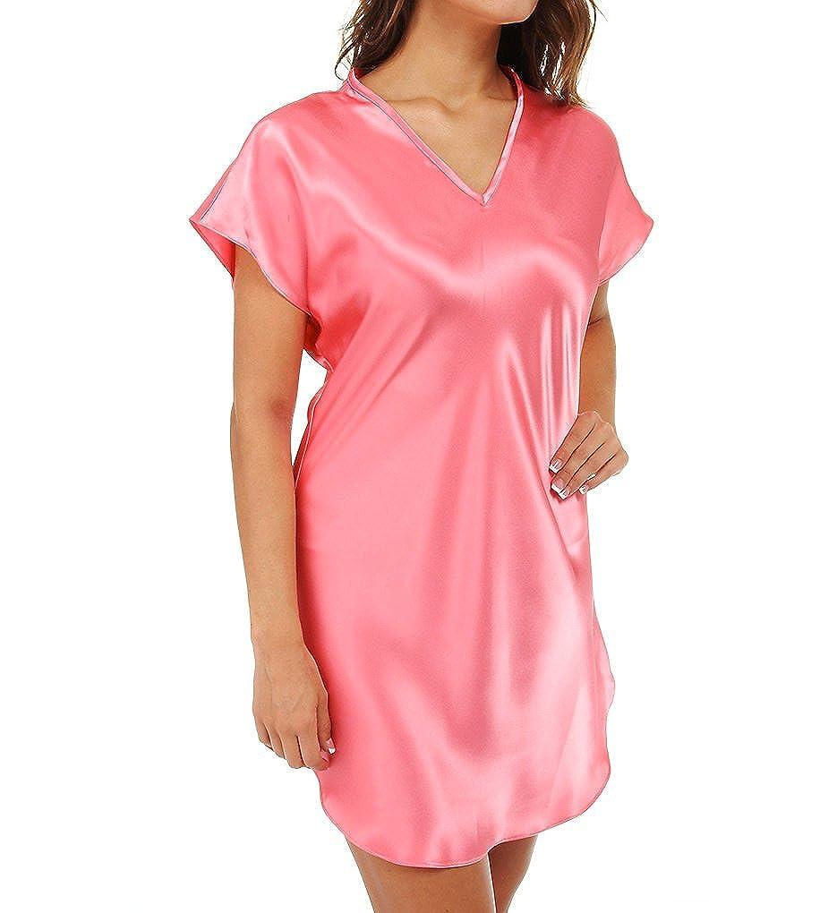 Amanda ricos sesgo corte satinado camiseta vestidos de novia (412 ...
